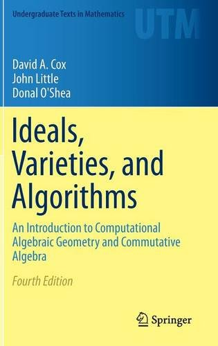 Cover of Ideals, Varieties and Algorithms