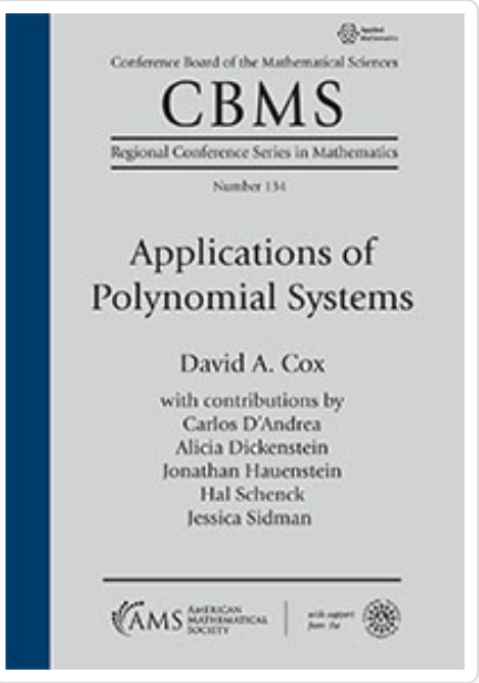 Cover of CBMS Volume