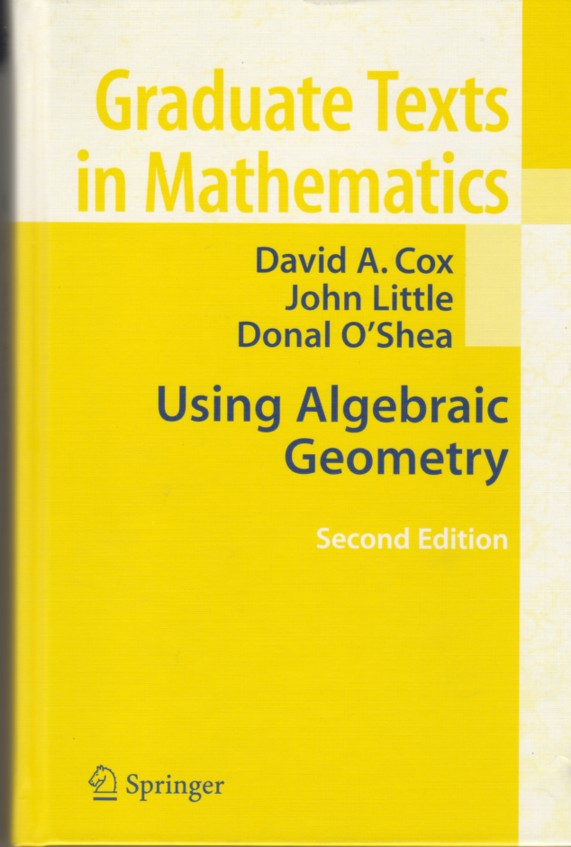 Cover of Using Algebraic Geometry